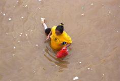 Natural-disaster-risk response